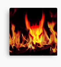 beast from hell Canvas Print
