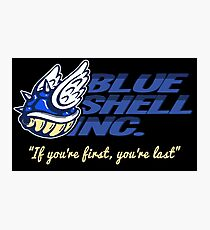 Blue Shell Inc. (no distressing) Photographic Print