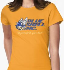 Blue Shell Inc. (no distressing) Womens Fitted T-Shirt