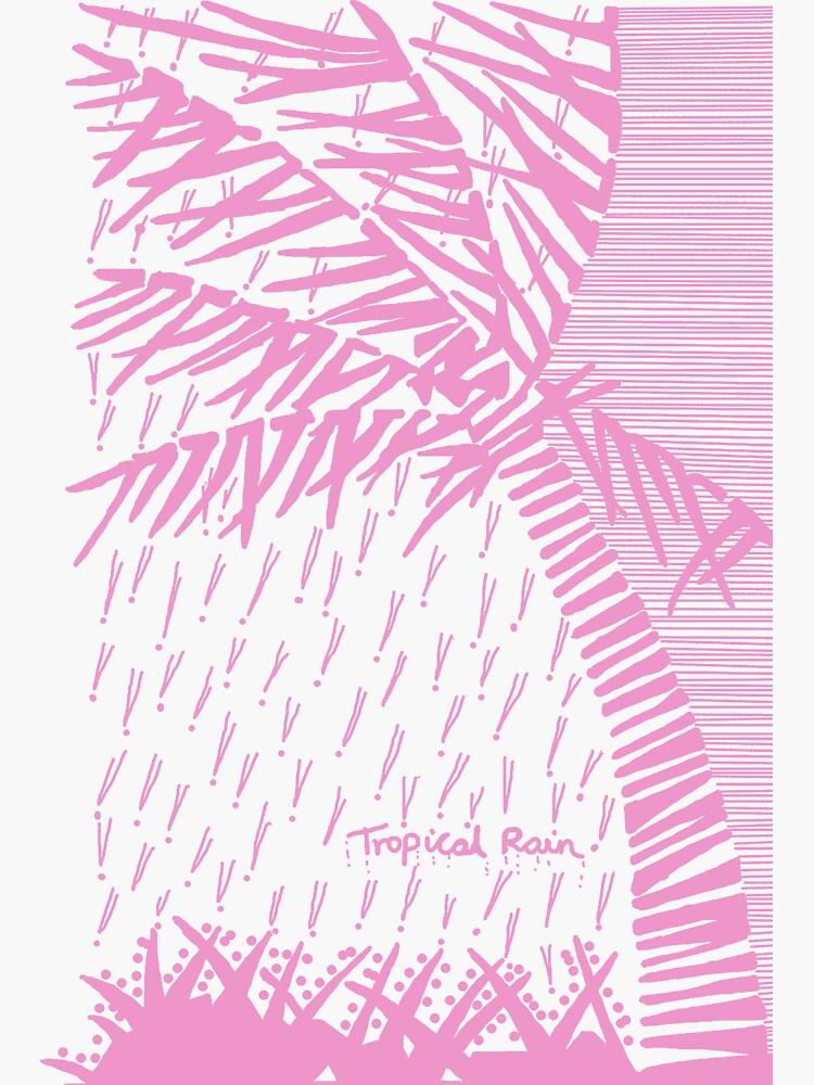 Tropical Rain Cuba Pink by hoxtonboy