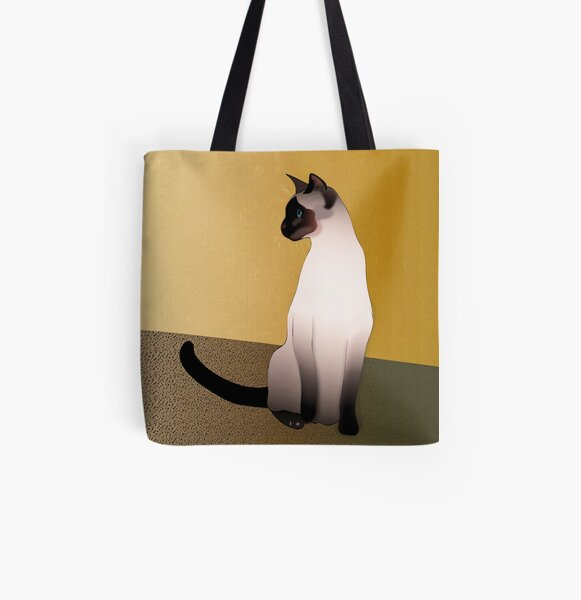 SophistiCATed Feline Tote Bag