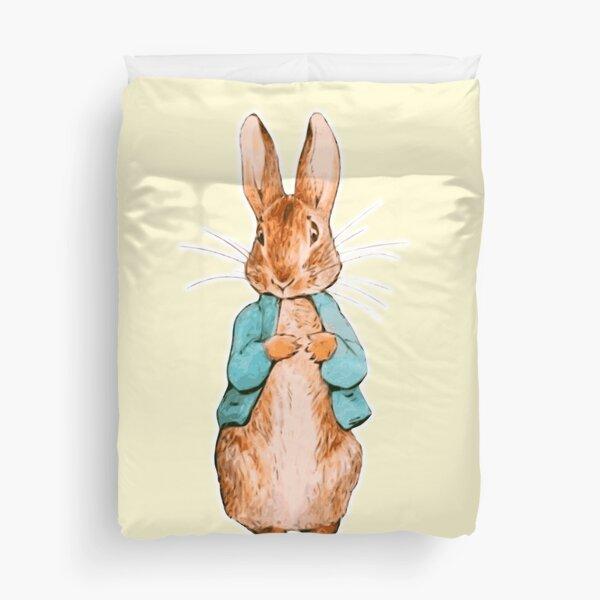 Nursery Characters. Peter Rabbit. Beatrix Potter. Duvet Cover