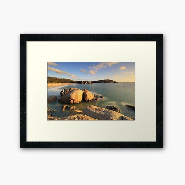 Whisky Bay - Wilsons Promontory Framed Art Print