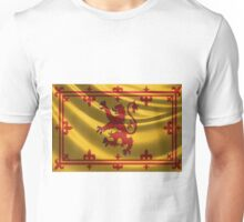 Royal Banner of the Royal Arms of Scotland Unisex T-Shirt