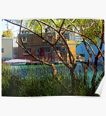 Hideaway - Mission Creek House Boat Poster