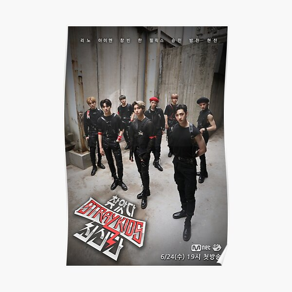Finding Stray Kids Go Live SKZ 3RACHA god's menu Poster