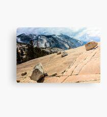 Olmsted Point Yosemite Metal Print