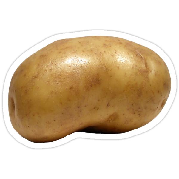 Quot Potato Quot Stickers By Joekiller Redbubble