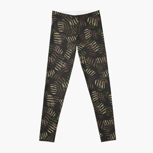 Camouflage Pattern 16 Leggings