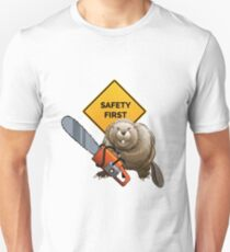 Beaver with a chainsaw T-Shirt