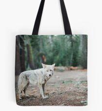 Wolf In Yosemite Tote Bag