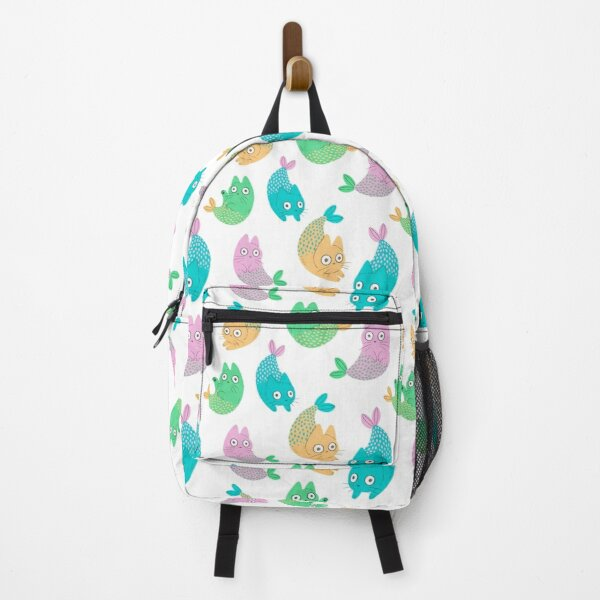 Pastel Purrmaids Backpack