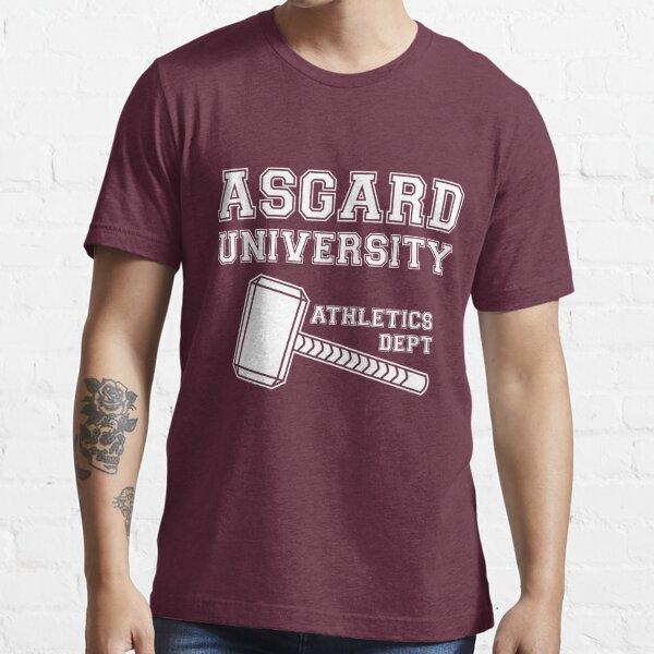 Asgard University - Athletics Department (Dark Shirt) Essential T-Shirt