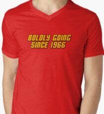 Boldly Going Since 1966 Men's V-Neck T-Shirt
