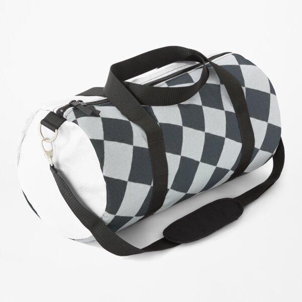 Black and white Duffle Bag