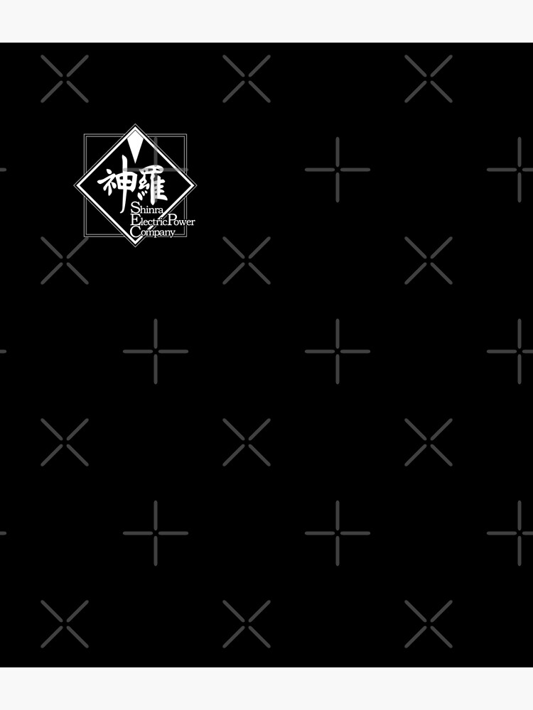 Final Fantasy® VII Remake - Shinra Electric Power Company (Logo) [White] by SWISH-Design