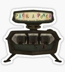 Pack a punch Sticker