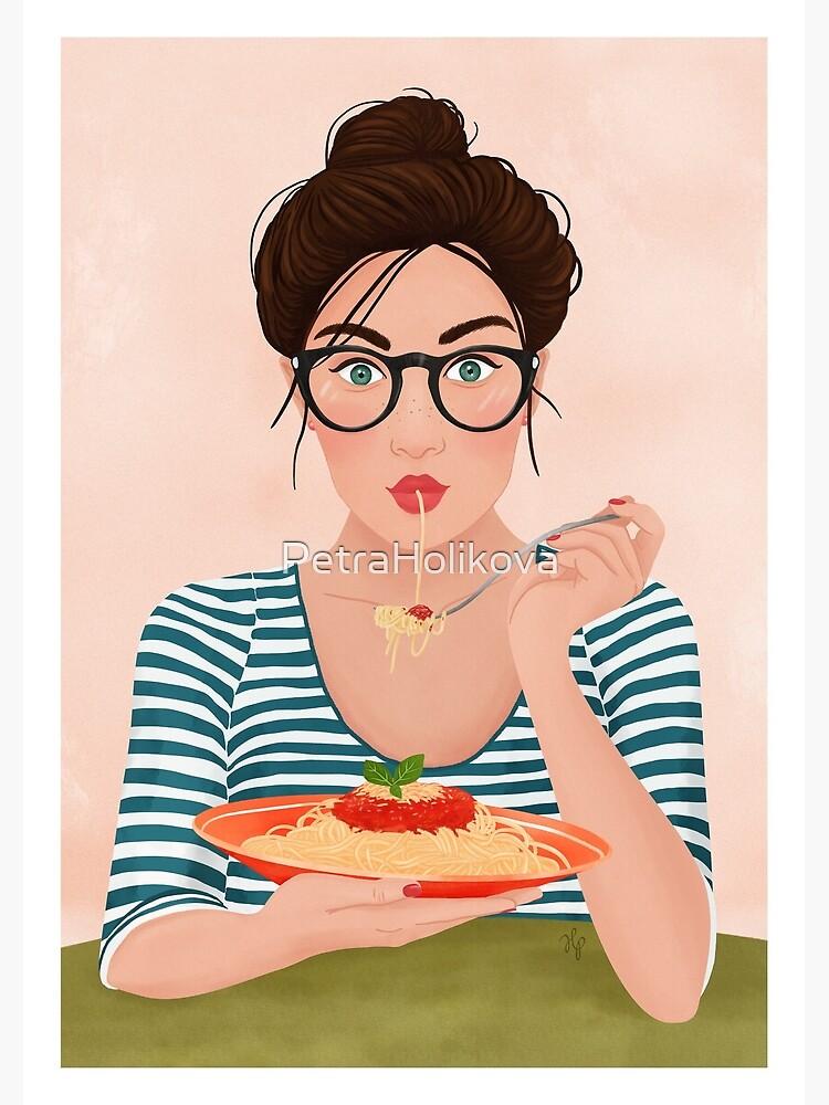 Spaghetti by PetraHolikova