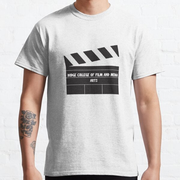 Dodge College of Film and Media Arts Sticker Classic T-Shirt