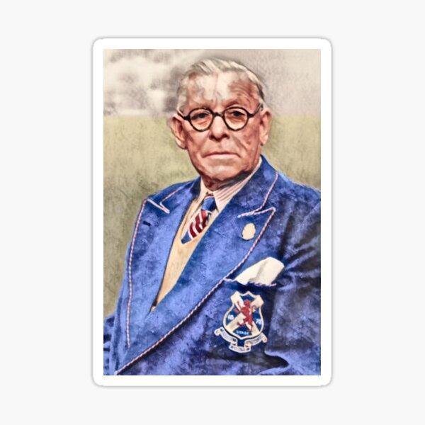 Bill Struth Digital Painting Sticker
