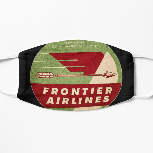 Frontier Airlines USA Mask