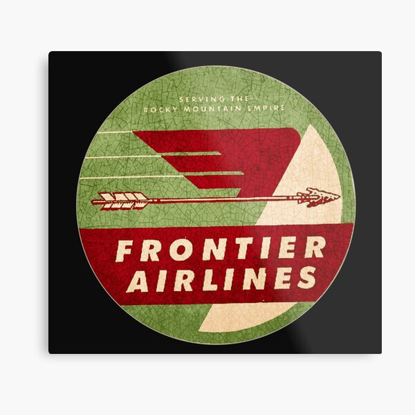 Frontier Airlines USA Metal Print