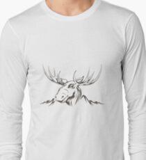 Moose head T-Shirt