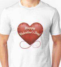 The toy Happy Valentine's Day heart Unisex T-Shirt