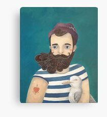 A Sailor Canvas Print