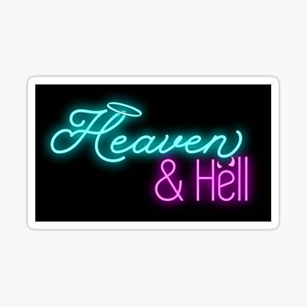 Heaven & Hell Club Sticker