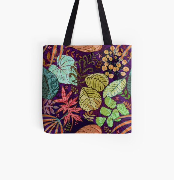 Evening Forest  All Over Print Tote Bag