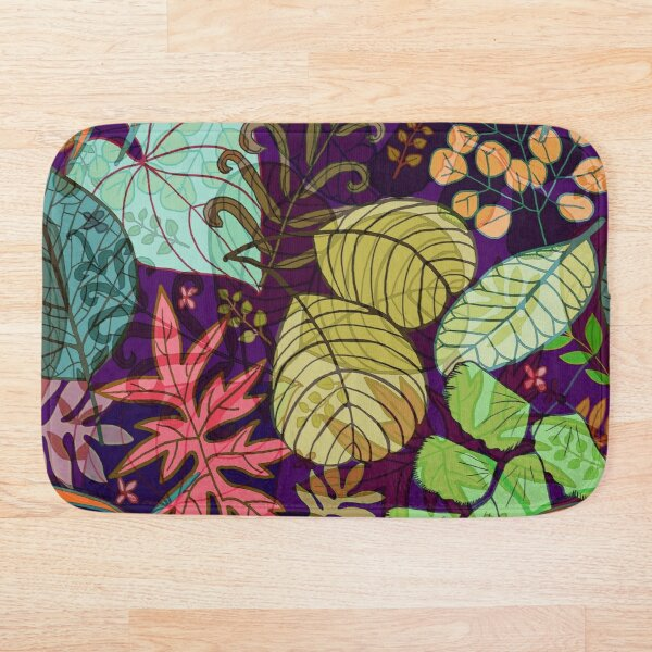 Evening Forest  Bath Mat