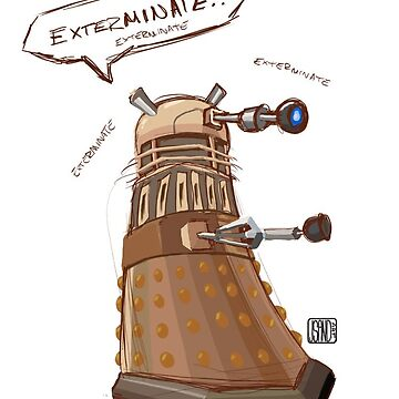 Exterminate! by JSandArt
