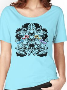 Teenage Mutant Ninja Rorschach Women's Relaxed Fit T-Shirt