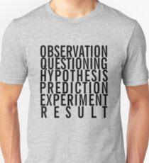 Scientific Method Unisex T-Shirt