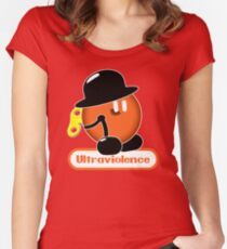 An Orange Clockwork (Ultraviolence Version) Women's Fitted Scoop T-Shirt