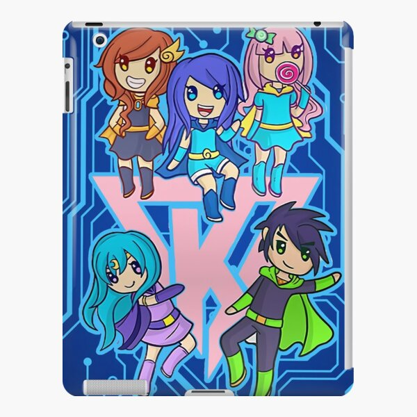 Skins De Youtubers Roblox Funneh Roblox Ipad Cases Skins Redbubble