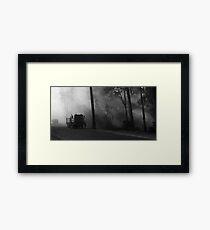 bushfires Framed Print