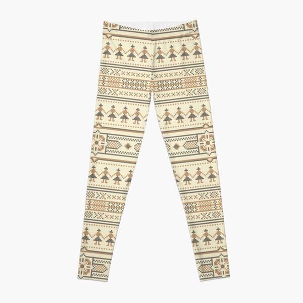 Ethnic Pattern 05 Leggings