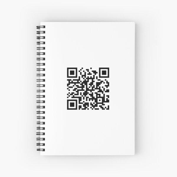 tom holland lip sync battle QR code Spiral Notebook