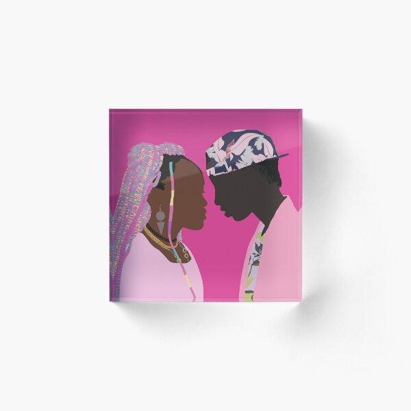 Kena and Ziki - Rafiki (2018)  Acrylic Block