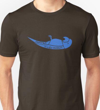 Anatomy of an Ex-Parrot T-Shirt