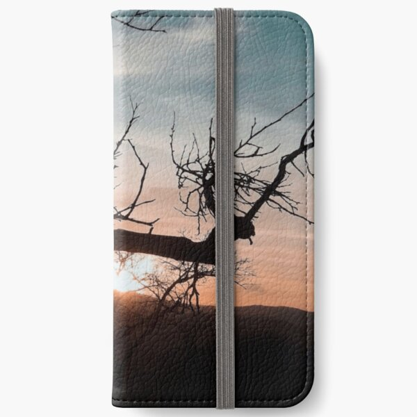 Sunset Tree iPhone Wallet