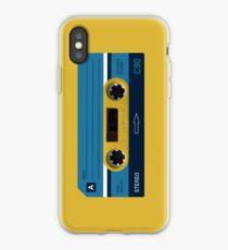 Vinilo o funda para iPhone Yello Cassette