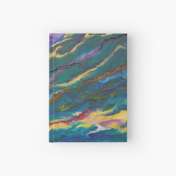Waves of Passion Abstract Hardcover Journal