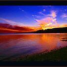 Sunset Beach by Tickleart