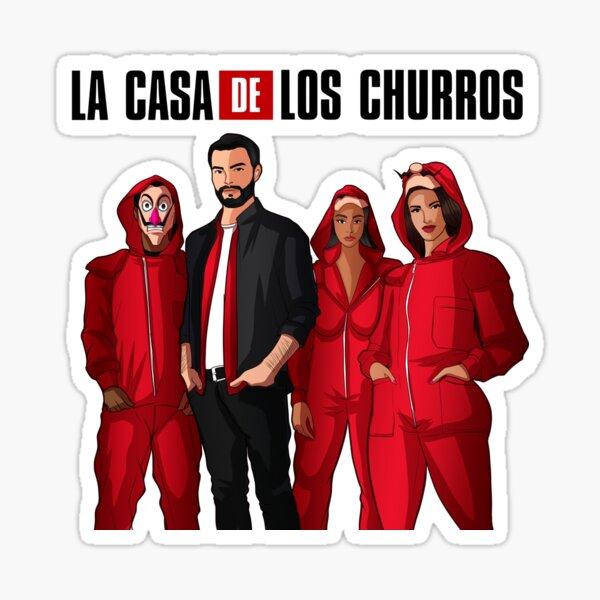 La Casa De Los Churros Sticker