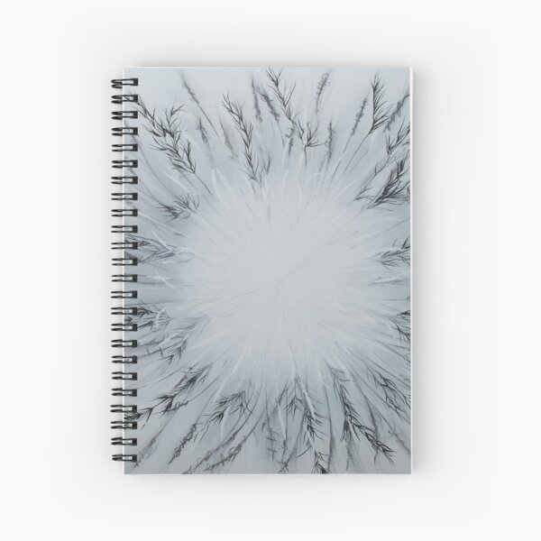 Said the Grass to the Wind Spiral Notebook