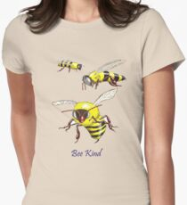 Bee Kind Women's Fitted T-Shirt