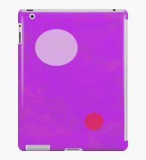Minimalism Electric Purple iPad Case/Skin